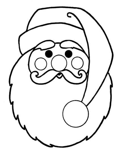 Santa Colouring Pages 13
