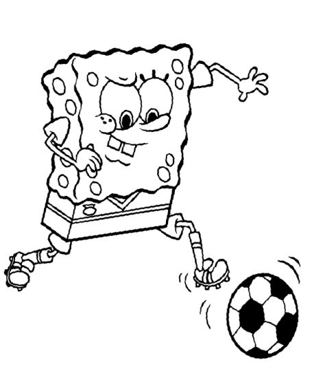 Spongebob Christmas Coloring Pages 35