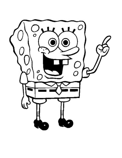 Spongebob Christmas Coloring Pages 47