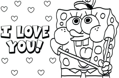 Spongebob Christmas Coloring Pages 52