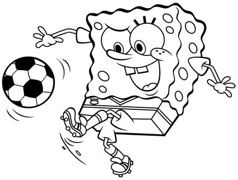 Spongebob Christmas Coloring Pages 64