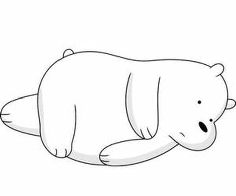 We Bare Bears Coloring Pages 14