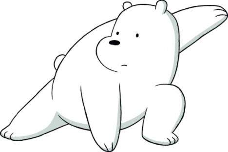 We Bare Bears Coloring Pages 16