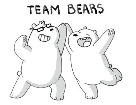 We Bare Bears Coloring Pages 2