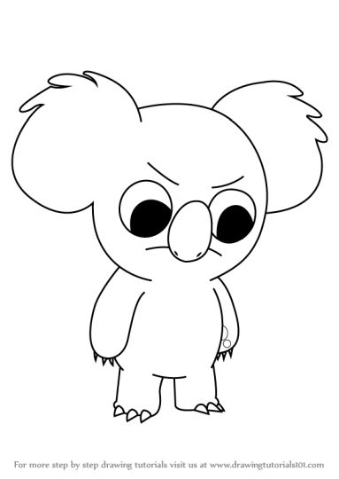 We Bare Bears Coloring Pages 8
