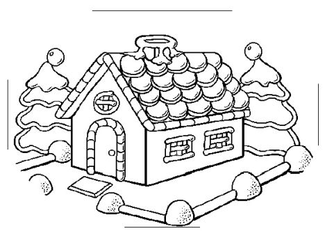 Christmas House Coloring Pages Part 2