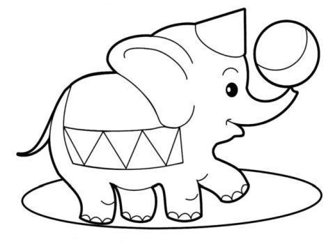 100 ideas Hard Coloring Pages Of Elephants on bestcoloringpages