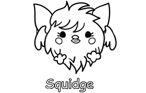 Cute Monster Coloring Pages 26