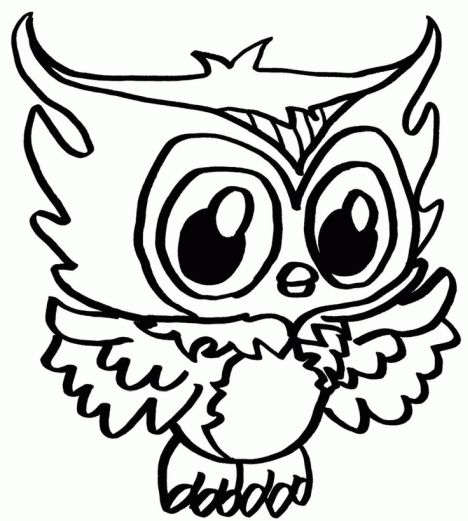 Cute Monster Coloring Pages 46