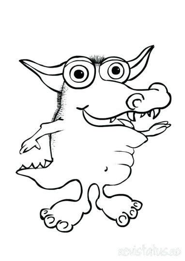 Cute Monster Coloring Pages 61