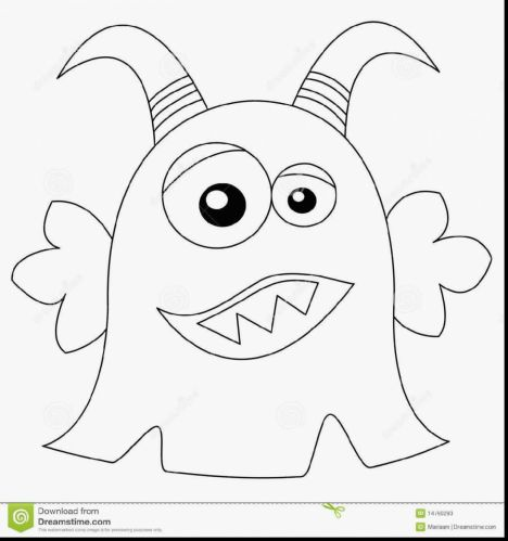 Cute Monster Coloring Pages 70