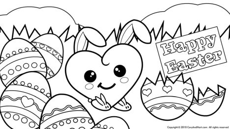 Disney Easter Coloring Pages 16