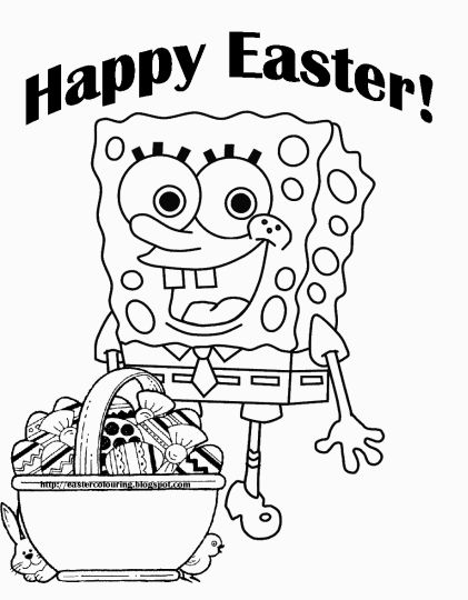 Disney Easter Coloring Pages 18
