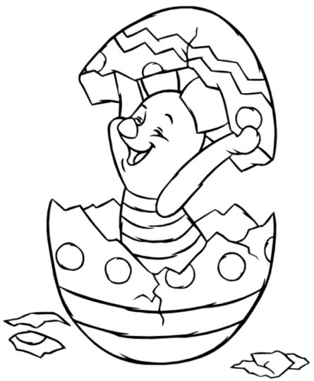 Disney Easter Coloring Pages 33