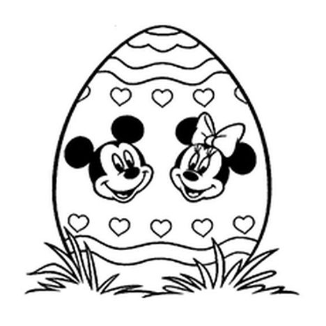 Disney Easter Coloring Pages 39