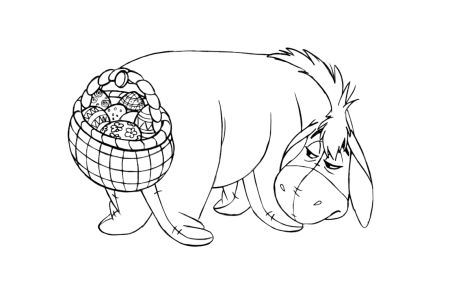 Disney Easter Coloring Pages 42