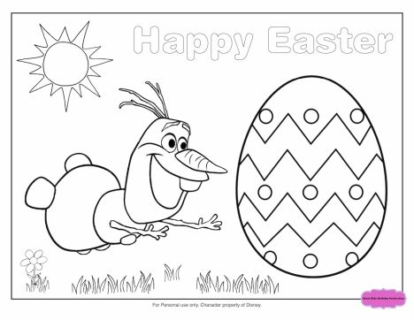 Disney Easter Coloring Pages Part 5