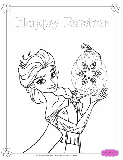 Disney Easter Coloring Pages 45