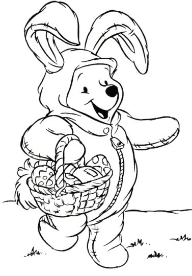 Disney Easter Coloring Pages 47