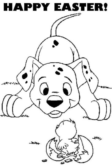 Disney Easter Coloring Pages 51