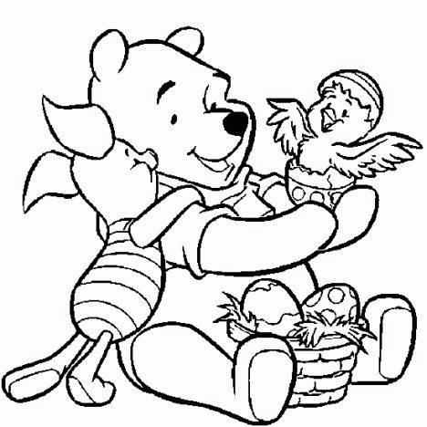 Disney Easter Coloring Pages 59