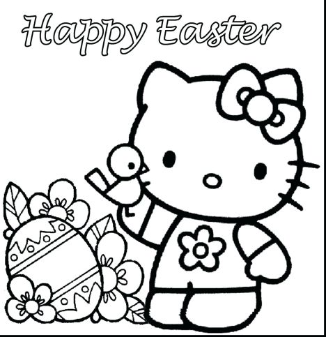 Disney Easter Coloring Pages 6