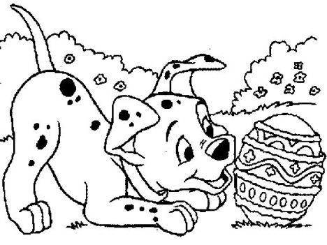 Disney Easter Coloring Pages 67
