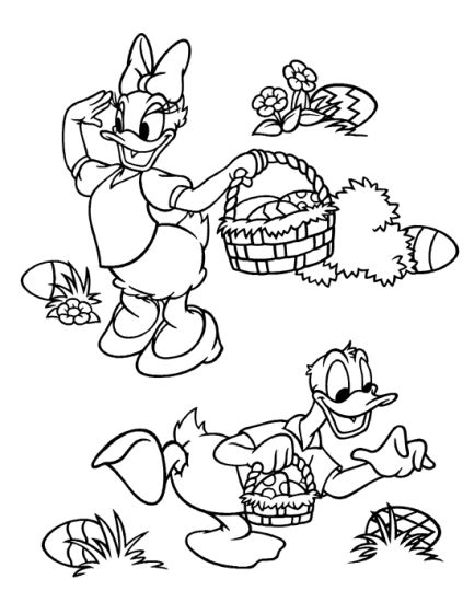 Disney Easter Coloring Pages 68