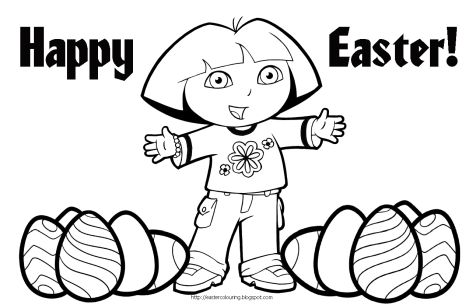 Disney Easter Coloring Pages 9