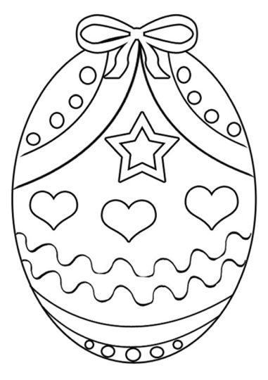 Easter Egg Coloring Pages For Adults 14