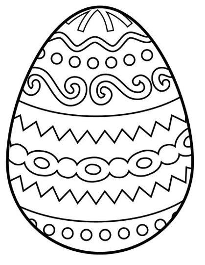 Easter Egg Coloring Pages For Adults 19