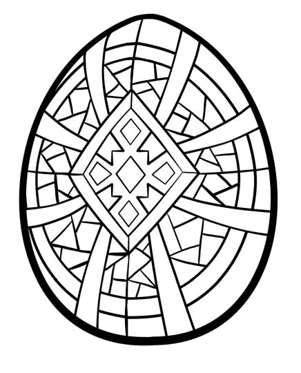 Easter Egg Coloring Pages For Adults 26