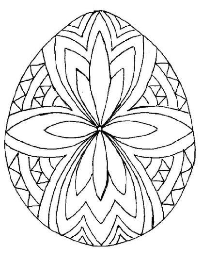 Easter Egg Coloring Pages For Adults 29