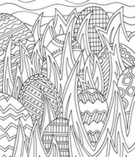 Easter Egg Coloring Pages For Adults 30