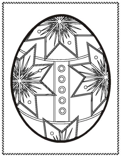 Easter Egg Coloring Pages For Adults 41