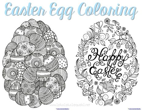 Easter Egg Coloring Pages For Adults 44