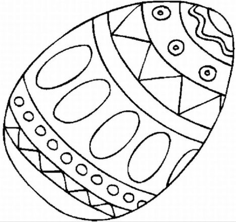 Easter Egg Coloring Pages For Adults 45