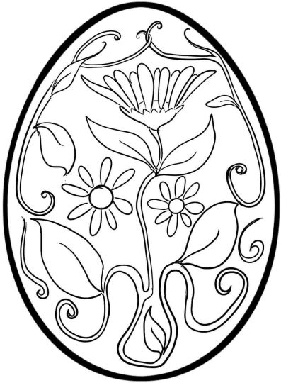 Easter Egg Coloring Pages For Adults 50