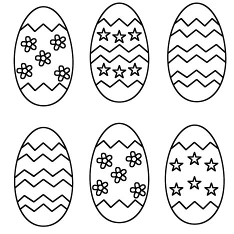 Easter Egg Coloring Pages For Adults 54