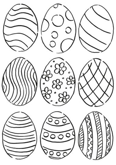 Easter Egg Coloring Pages For Adults 56
