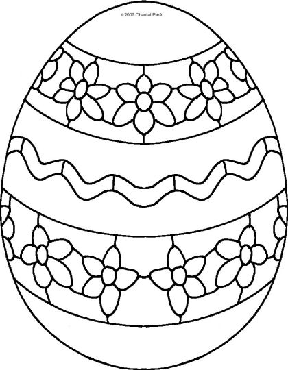 Easter Egg Coloring Pages For Adults 68