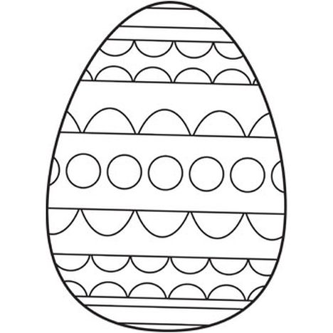 Easter Egg Coloring Pages For Adults 69