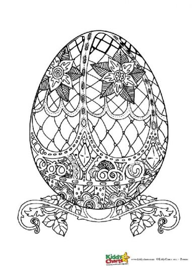 Easter Egg Coloring Pages For Adults 70