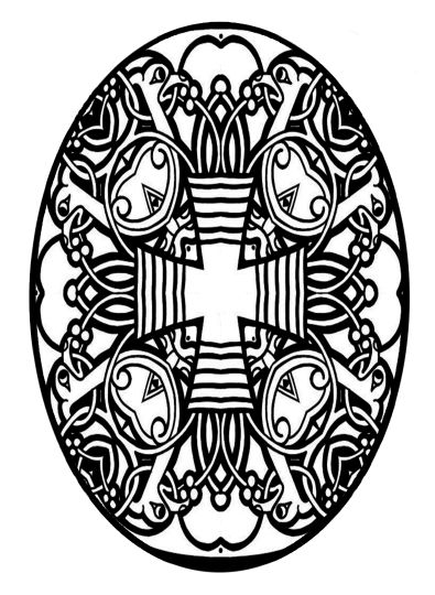 Easter Egg Coloring Pages For Adults 73