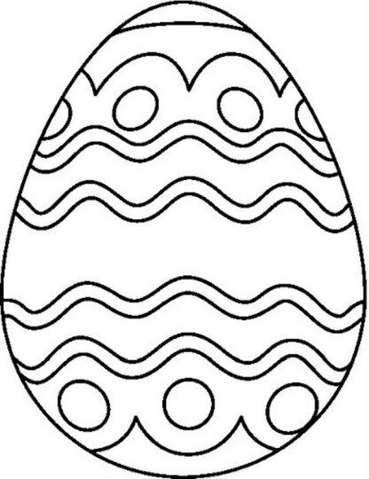 Easter Egg Coloring Pages For Adults 76