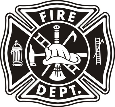 Fire Department Maltese Cross Coloring Page 10