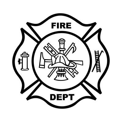 Fire Department Maltese Cross Coloring Page 14