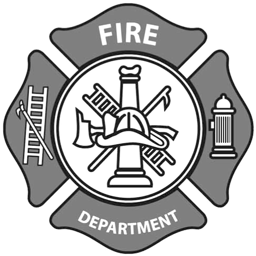 Fire Department Maltese Cross Coloring Page 18