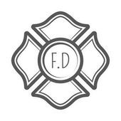 Fire Department Maltese Cross Coloring Page 20