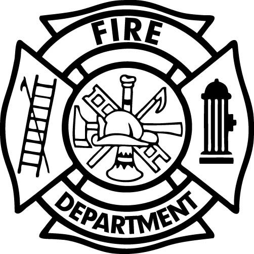 Fire Department Maltese Cross Coloring Page 29